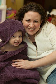 hooded towel - free pattern