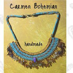 #CarmenBohemian #jewelry #accessories #boho #hippie #Style #design #artisan #gift #craft #handmade #macrame #gypsy #madeinSpain  https://www.instagram.com/carmen_bohemian/