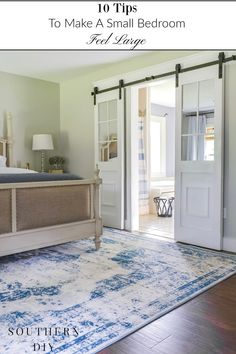 10 ways to make any small space feel bigger and brighter easily master bedroom makeover