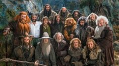 Thorin & company... Along with the director Peter Jackson