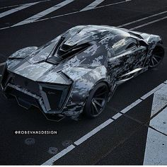 Digi-Camo Lykan Hypersport (photo: @robevansdesign )