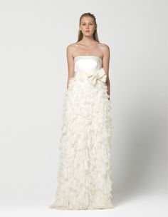Max Mara Bridal 2013..I would do this in different colors and make the skirt a little wider for Barbie..