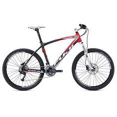 FUJI SLM 1.5 D Mountain bike Carbon w/ Red - http://www.bicyclestoredirect.com/fuji-slm-1-5-d-mountain-bike-carbon-w-red/