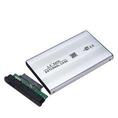 USB2.0 2.5 Inch Sata Interface Hard Drive HDD CASE