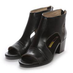 マナス MANAS ブーティサンダル(ブラック) -「買ってから選ぶ。」靴とファッションの通販サイト ロコンド