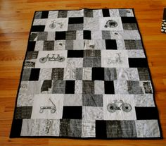 Finished Tricycle Quilt Summer 2011