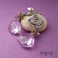 Lavender / mgypsy / Biżuteria / Kolczyki