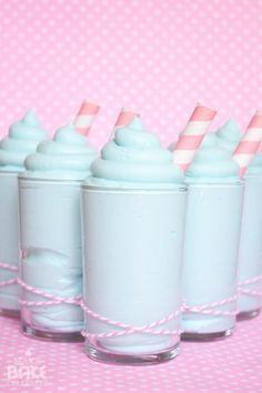 Cotton Candy Mousse. Of course I'm going to Pin this!