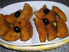 Receita Entrada : Rissóis de frango de Risonha