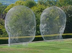 Nuria and Irma (2010), sculptures by Jaume Plensa by Tim Green aka atoach, via Flickr