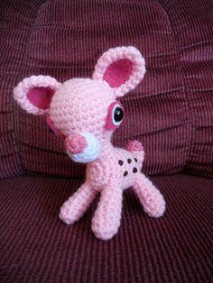 Pink Deer Amigurumi