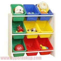 Organizér na hračky, viacfarebná/biela, KIDO TYP 2 Plastic Laundry Basket, Toy Chest, Storage Chest, Police, Organization, Cabinet, Box, Furniture, Home Decor
