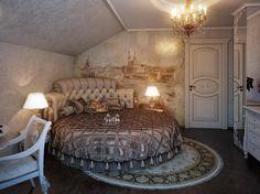 Romantic Victorian Bedrooms | 您当前的位置: >> 主卧圆床装修效果图