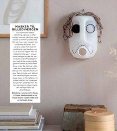 Lav en maske af plastikdunk Holiday Candles, Ikea Hacks, Skull, Art, Art Background, Kunst, Performing Arts, Skulls, Sugar Skull