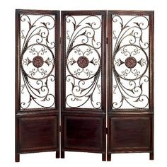 Awesome Dark Brown Decorative Room Screen from Joss and Main #dark_brown #decorative #room #screen #joss_and_main