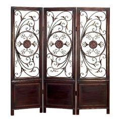 Awesome Dark Brown Decorative Room Screen #dark_brown #decorative #room #screen