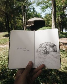 Moleskine Sketchbook  Located: Hue, Viet Nam.