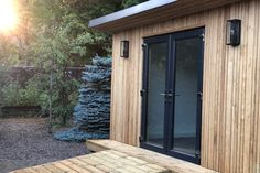 Gallery | Insulated Garden Rooms | Outside In Summer Houses Uk, Summer House Garden, Home And Garden, Insulated Garden Room, Outdoor Garden Rooms, Gym Room, Garden Office, Sunroom, Tall Cabinet Storage