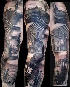 Full Sleeve Tattoo - 95 Awesome Examples of Full Sleeve Tattoo Ideas  <3 <3