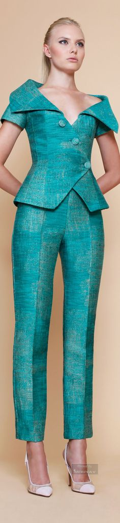 Georges Chakra Spring Summer 2015 - Jacket only worn with other skirts/trousers
