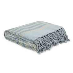 Shaldon Stripe Throw :: Laura Ashley