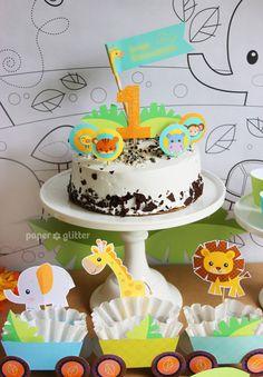 My son's 1st birthday celebration