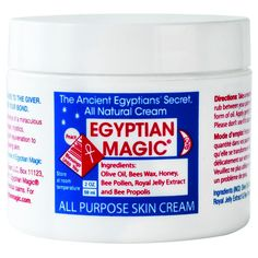 Based on an ancient Egyptian formula that Cleopatra used to keep her skin radiant and glowing. Egyptian Magic Skin Cream is the most popular all-natural, all-purpose skincare product in the world.The secret to Egyptian Magic is a blend of six natural ingr Aftershave, Anti Aging Cream, Anti Aging Skin Care, Egyptian Magic Skin Cream, Zoeva, Mademoiselle Bio, Le Psoriasis, How To Treat Eczema, Bee Pollen