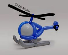 My Daily Balloon: 27th May - Helicopter