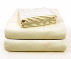 Bamboo Hotel Comfort Bed Sheet Set 300 TC California King Bed Size-Deep Pockets #StoryHome #Modern