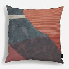 Your cushion is made to order and hand-finished. Your cover is printed on cotton canvas, with a handsome smoke grey back cover, smoke grey piping and. Cotton Canvas, Wall Murals, Cushions, Throw Pillows, Deco, Abstract, Irene, Prints, Life