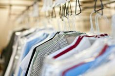 Get that dry-cleaned look at home: Steam your clothes to perfection | #laundry #diy