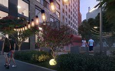 ЖК New York Concept House Придомовая территория