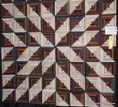 'Star log Cabin' by WENDY J. THOMPSON - COLCHESTER, VT