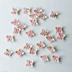 Origami Wedding Petals (Set of 25) on Food52