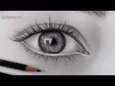 How To Draw Realistic Eye Step by Step Modern Drawing, Realistic Pencil Drawings, Pencil Art Drawings, Easy Drawings, Drawing Eyes, Food Drawing, Painting & Drawing, Youtube Drawing, Body Sketches