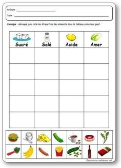 The 5 senses of style in kindergarten, undertaking, actions and video games on style Primary Science, Kindergarten Science, Teaching Science, Teaching Tools, Preschool Activities, French Language Lessons, French Lessons, French Teacher, Teaching French