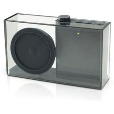 Minimalist FM radio. Classy stuff.
