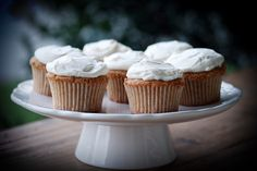 Earl Grey Milk Tea Cupcakes with Mascarpone Frosting