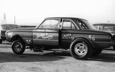 Ford Falcon gasser.