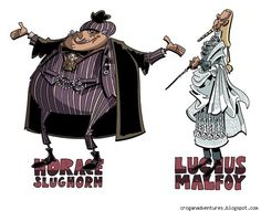 Chris Schweizer Draws His Favorite Cartoonists And Puts His Own Spin On Harry Potter [Art]