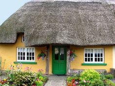 Irish cottage.
