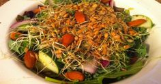 How To Make A Giant Cancer Busting Salad | Healthy Food House