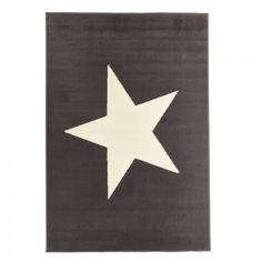 Teppich Stern (140x200, grau)