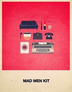 film kit hipster mad men