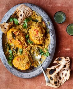 Coconut curry and a boozy fruit pudding: Ravinder Bhogal's alphonso mango recipes | Food | The Guardian Mango Recipes, Curry Recipes, Fruit Recipes, Vegetarian Recipes, Cooking Recipes, Dump Recipes, Dump Meals, Coconut Curry, Curry Leaves