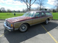 1984 Chevrolet Caprice Estate wagon