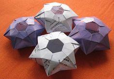 Origami Vase - Six Points Star Vase