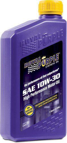 Royal Purple 12130 API-Licensed SAE 10W-30 High Performance Synthetic Motor Oil - 1 qt. by Royal Purple via https://www.bittopper.com/item/royal-purple-12130-api-licensed-sae-10w-30-high-performance/