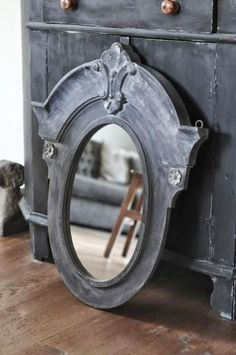 Life is like a mirror. Architectural Salvage, Architectural Elements, Trumeau, Fresh Farmhouse, Dormer Windows, Garden Styles, Home Accents, Picture Frames, Interior Decorating