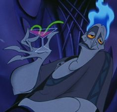 Funniest Disney Villain Ever! I think He should hang out with Genie! They're both hilarious..